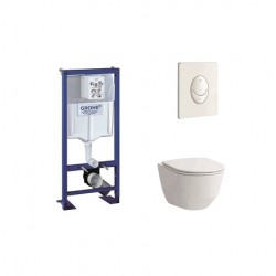 Pack wc suspendu Grohe 'Rapid SL' 3/4,5 à 6/9 L