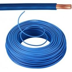 KABEL - VOB Fil d'installation - 6 mm² - Bleu (H07V-U) 100m