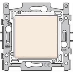 NIKO - Interrupteur bipolaire, socle et set de finition, cream/blanc