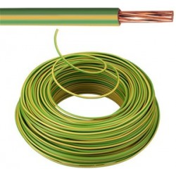 KABEL - VOB - Eca Fil d'installation - 16 mm² - Jaune/Vert (H07V-R)