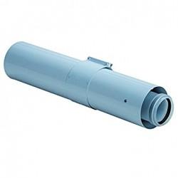 BULEX RALLONGE 60/100 MM PP LONGUEUR 1000 mm A2032600 (CONDENSAT)