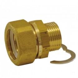 RACC COMPL FLEX INOX 4/4M-46102 FL