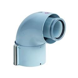BULEX COUDE 90°- 60/100 A2032900 (CONDENSAT)