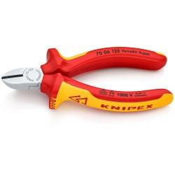 KNIPEX PINCES COUPANTES ISOLEE DE COTE 125 MM