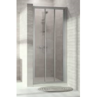 HUPPE ALPHA 2-PORTE COULISS. 80CM ARGENT