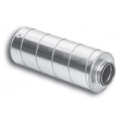 SILENCIEUX Ø180 L=600 / isolant 50mm