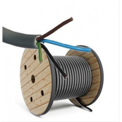 Câble d'installation XVB-F2 4G1,5 mm² - (par mètre)
