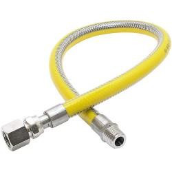 FLEXIBLE GAZ INGAS INOX - 50CM 1/2