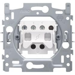NIKO - Socle pour un interrupteur va-et-vient ou un interrupteur à tirette va-et-vient, 10 AX/250 Vac
