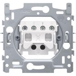 NIKO - Socle pour un interrupteur permutateur ou un interrupteur à tirette permutateur, 10 AX/250 Vac